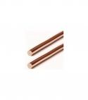 Electrodes en cuivre certifiées pure à 99,99%