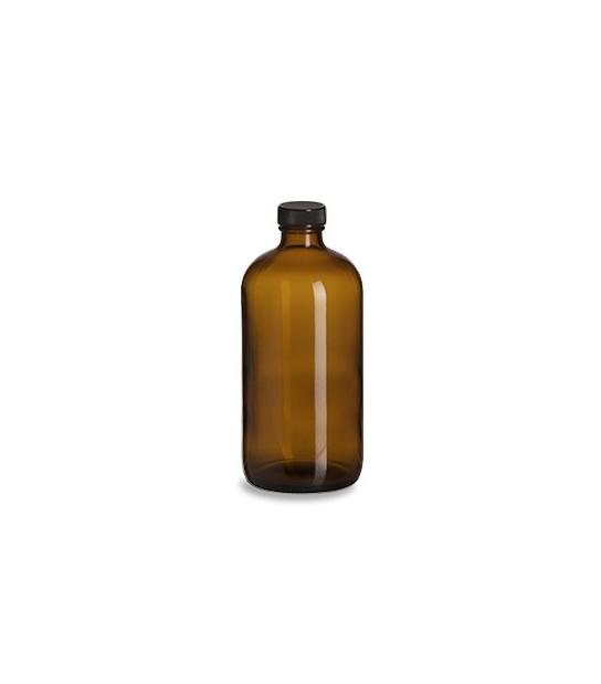 Bouteille en verre ambre 500ml